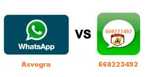 Whatsapp VS Asvogra