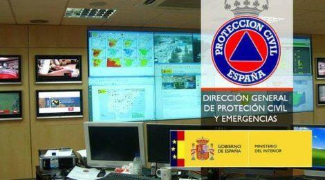2018-01-25 Protección Civil y Emergencias alerta por la llegada de un frente que trae nevadas y vientos fuertes