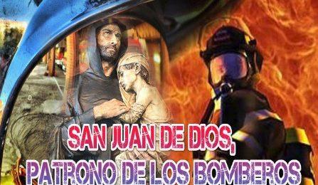 """CELEBRACIÓN DEL PATRÓN DE BOMBEROS """" SAN JUAN DE DIOS"""" - Guadix (Granada)"""