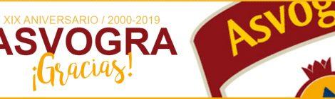 XIX Aniversario creación AsVoGra