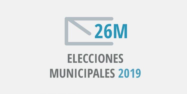 26 de mayo, Elecciones Municipales